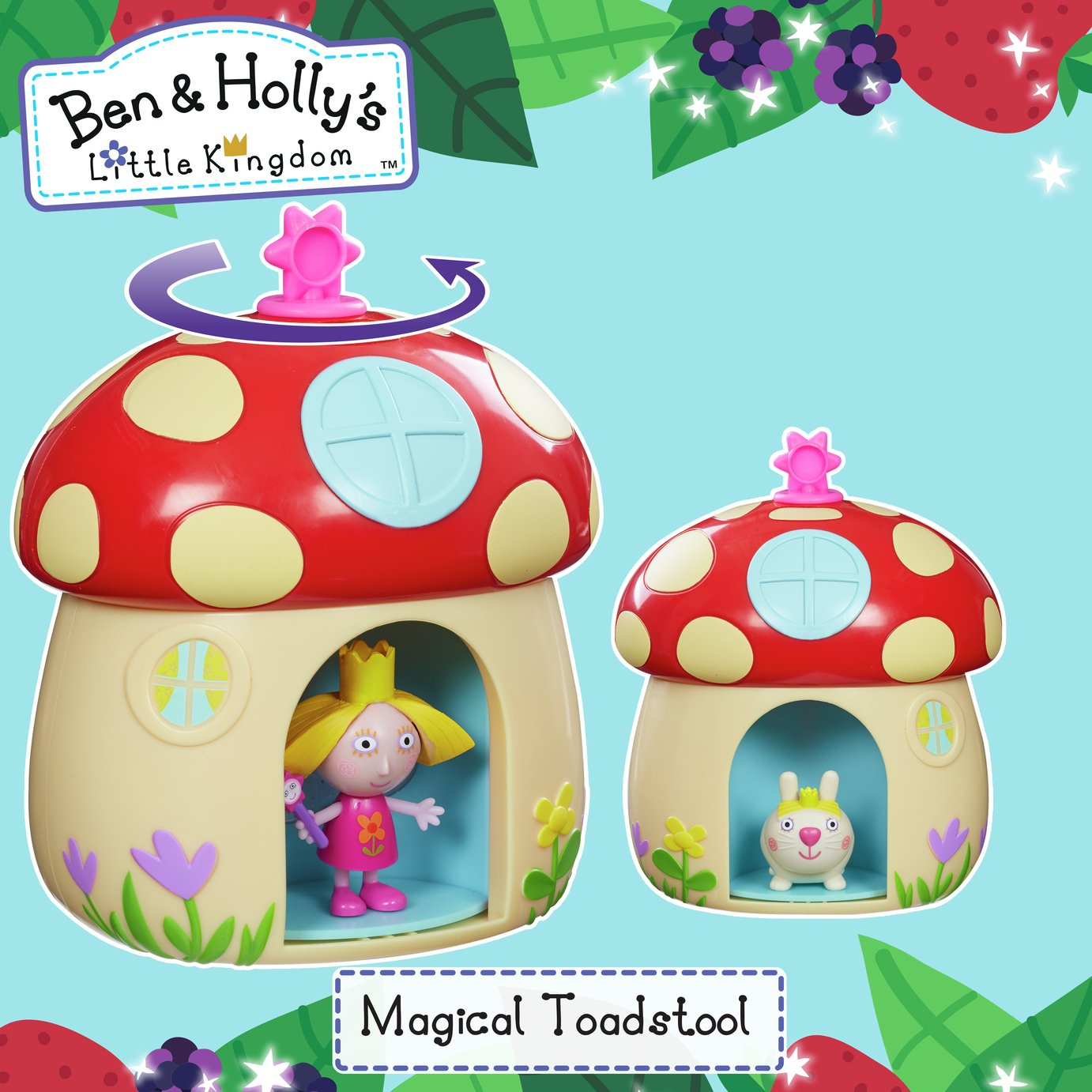Image of Ben & Holly's Little Kingdom Magical Toadstool Playset