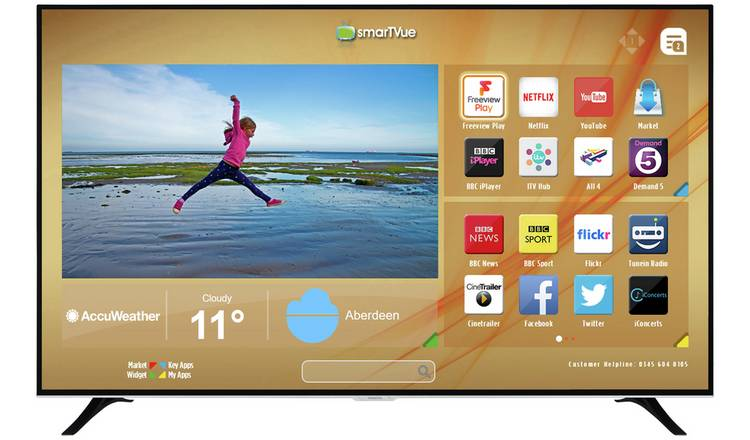 e3b685e5b4d Buy Hitachi 75 Inch Smart 4K UHD TV with HDR