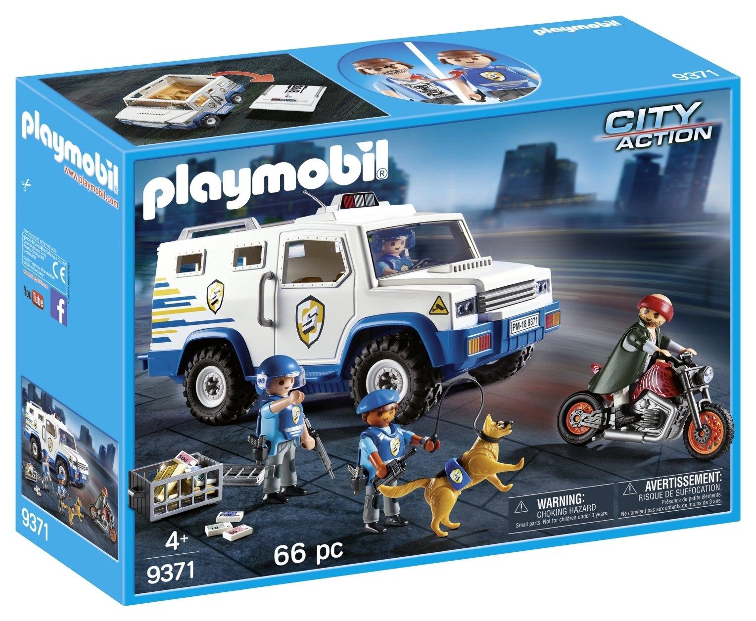 Image of Playmobil 9371 Money Transport Vehicle