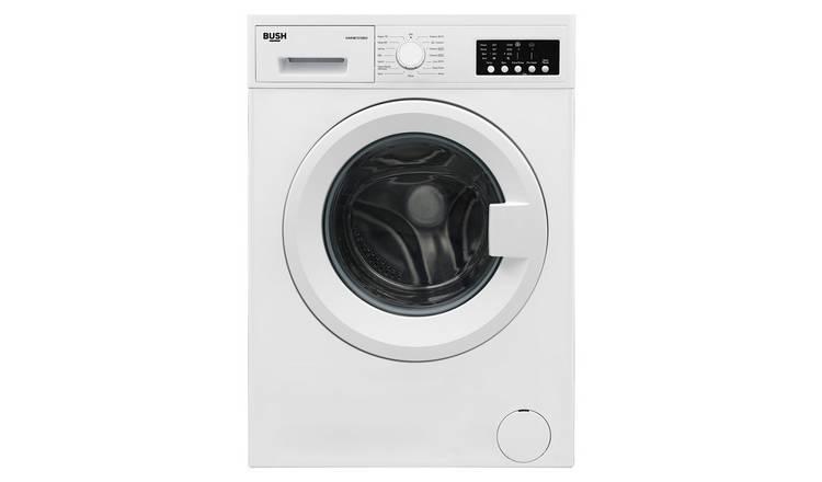 Buy Bush WMNB1012EW 10KG 1200 Spin Washing Machine - White ...