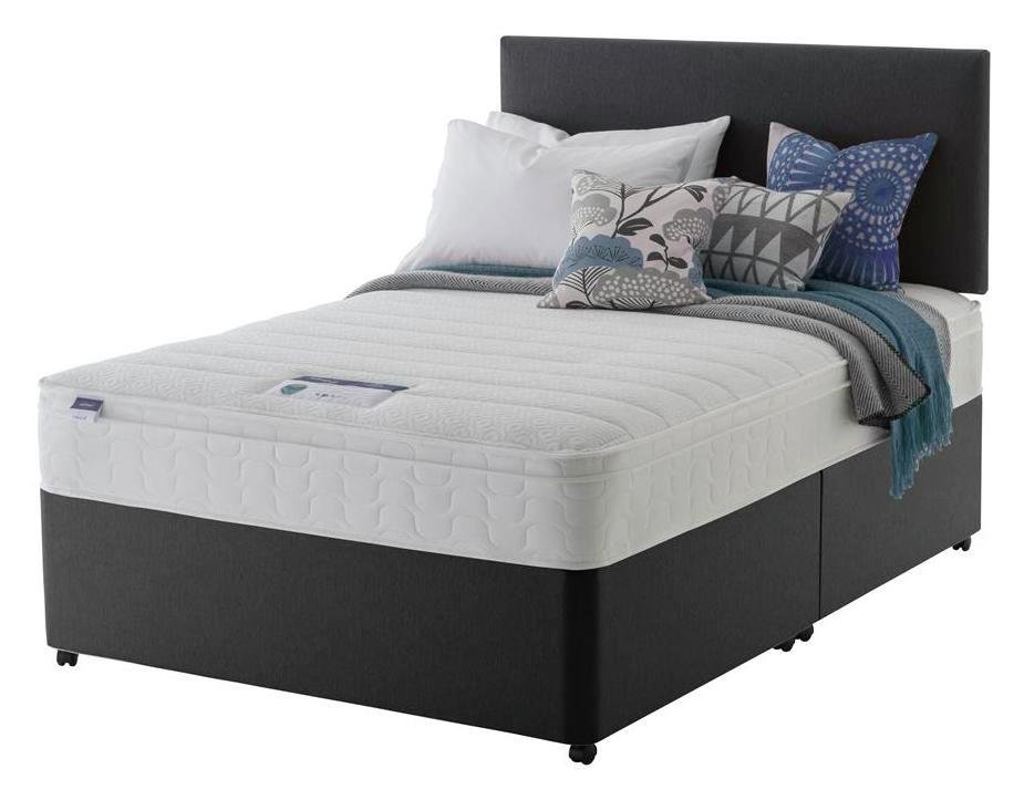 Silentnight Travis Microquilt Divan Bed - Superking