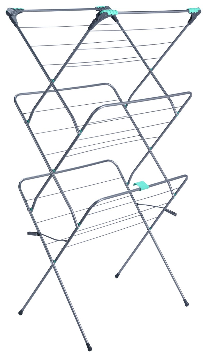 Image of Addis 16m 3 Tier Indoor Clothes Airer