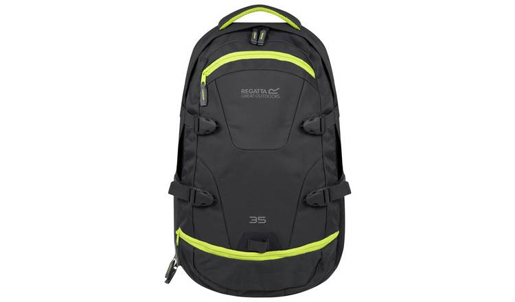 90a32ab7cb5c1 Buy Regatta Paladen 35L Backpack - Ebony Spring | Backpacks | Argos