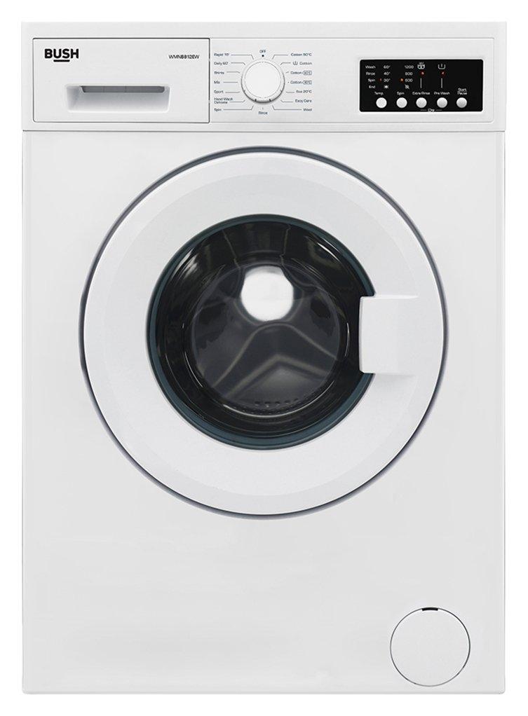 'Bush Wmnb812ew 8kg Washing Machine - White