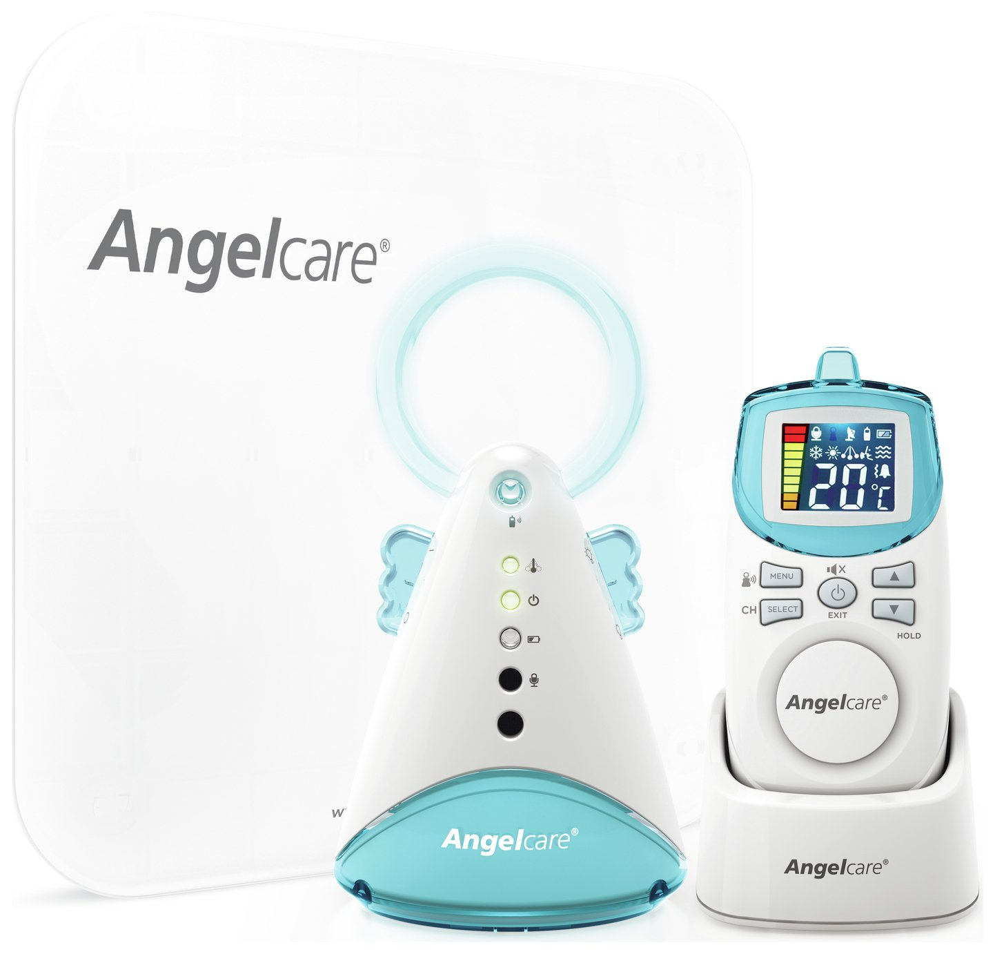 Angelcare AC401 Baby Movement Monitor with Sound