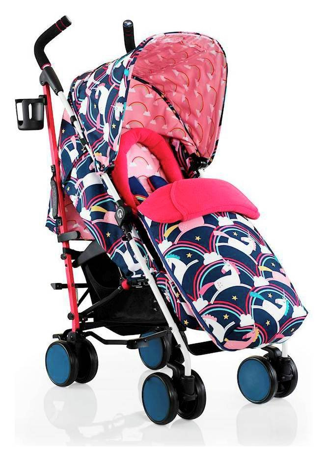 Image of Cosatta Supa 2018 Stroller - Magic Unicorns