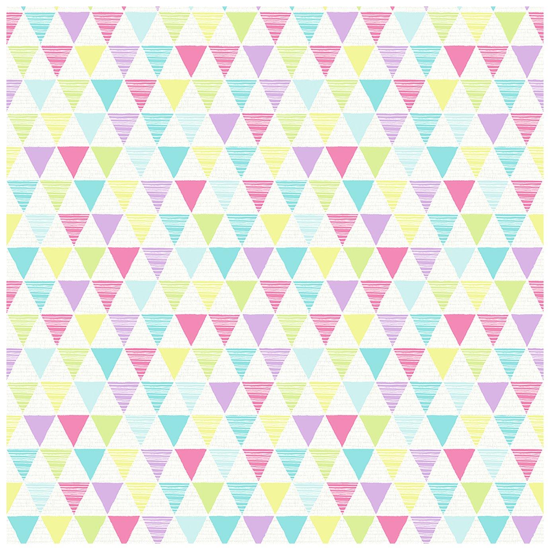 Arthouse Jester Bright Wallpaper - Multicoloured