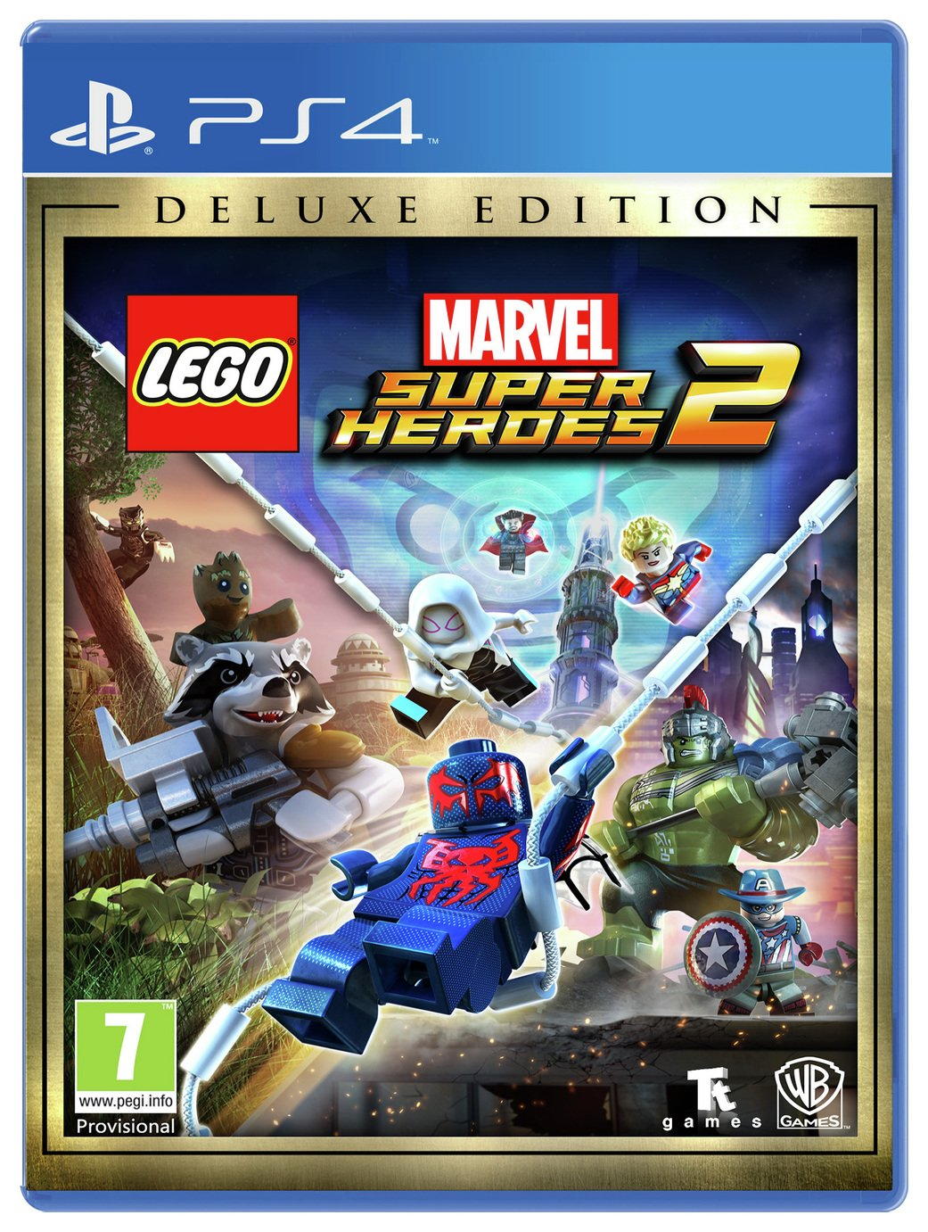 Lego Marvel Super Heroes 2 Deluxe Edition PS4 Game
