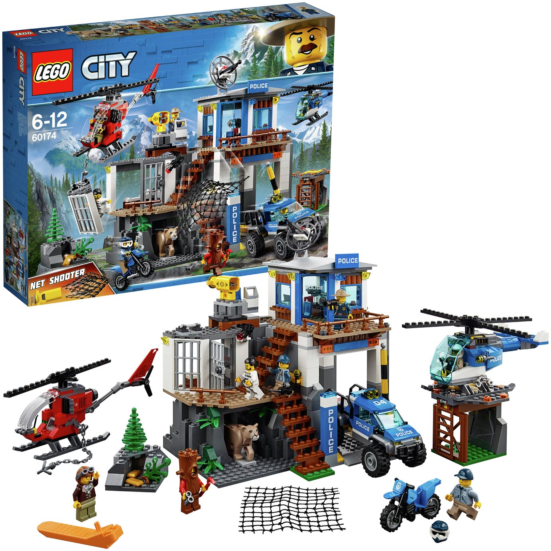 Buy LEGO City Mountain Police Headquarters - 60174   LEGO   Argos