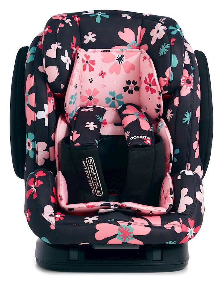 Cosatto Hug Groups 1-2-3 ISOFIX Car Seat - Petals