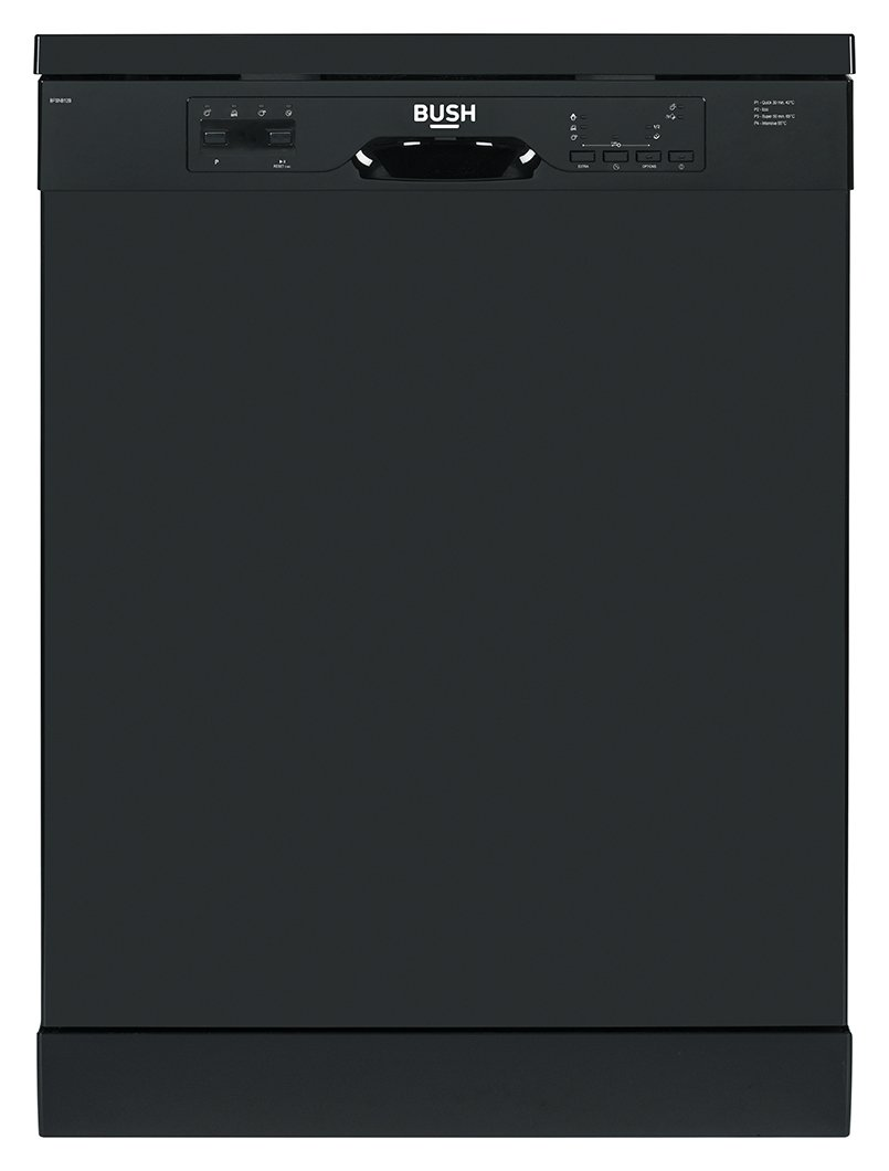 'Bush Bfsnb12b Full Size Dishwasher - Black