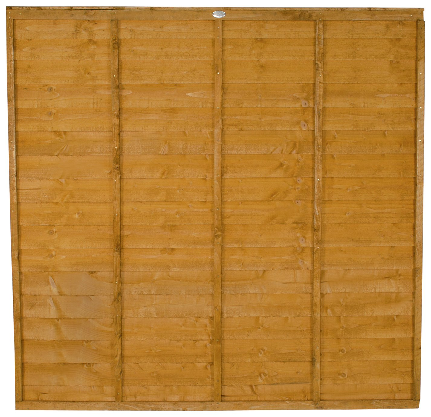 Forest 6ft (1.83m) Premier Lap Fence Panel - Pack of 3