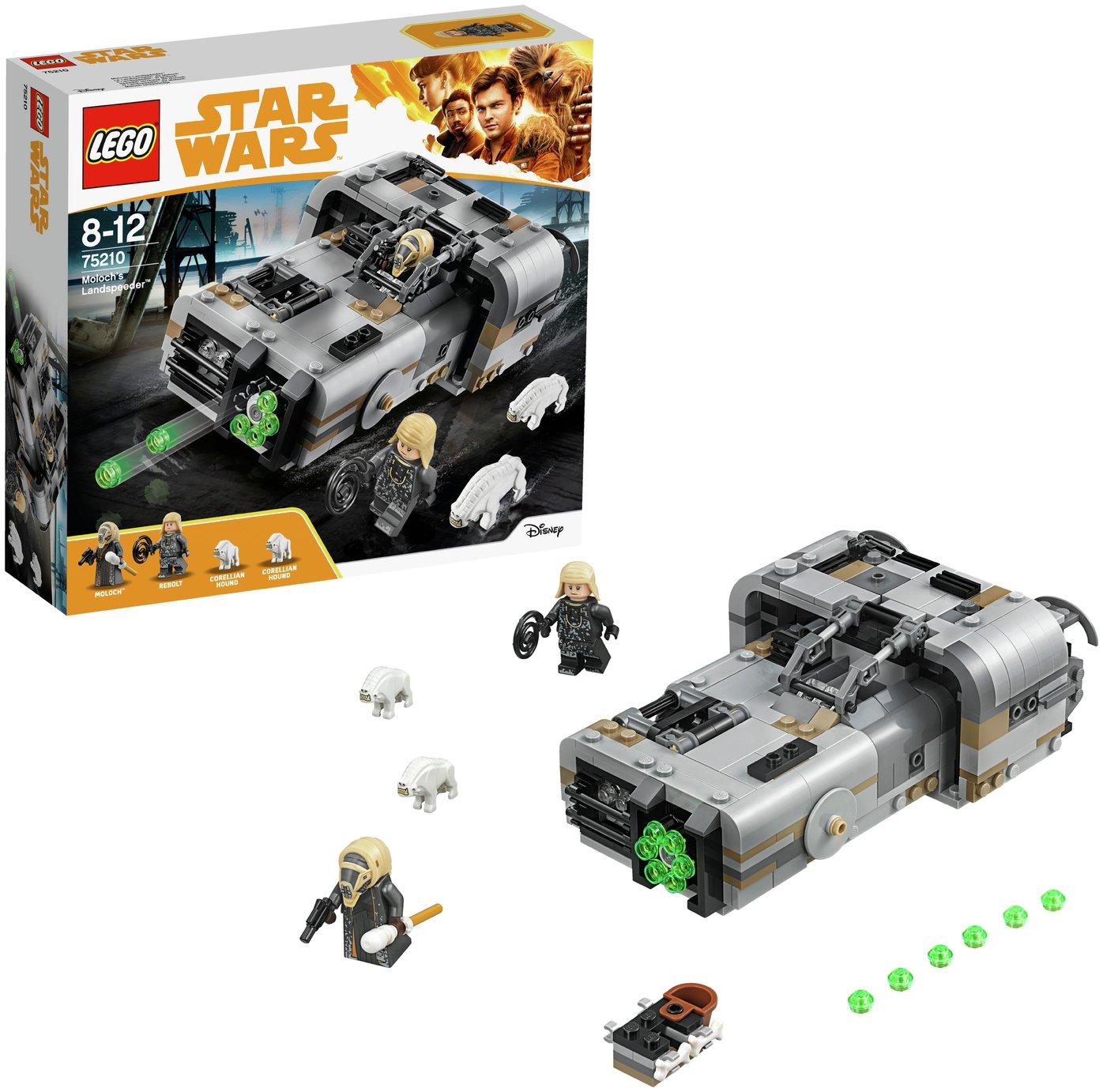 LEGO Star Wars Han Solo Moloch's Landspeeder - 75210