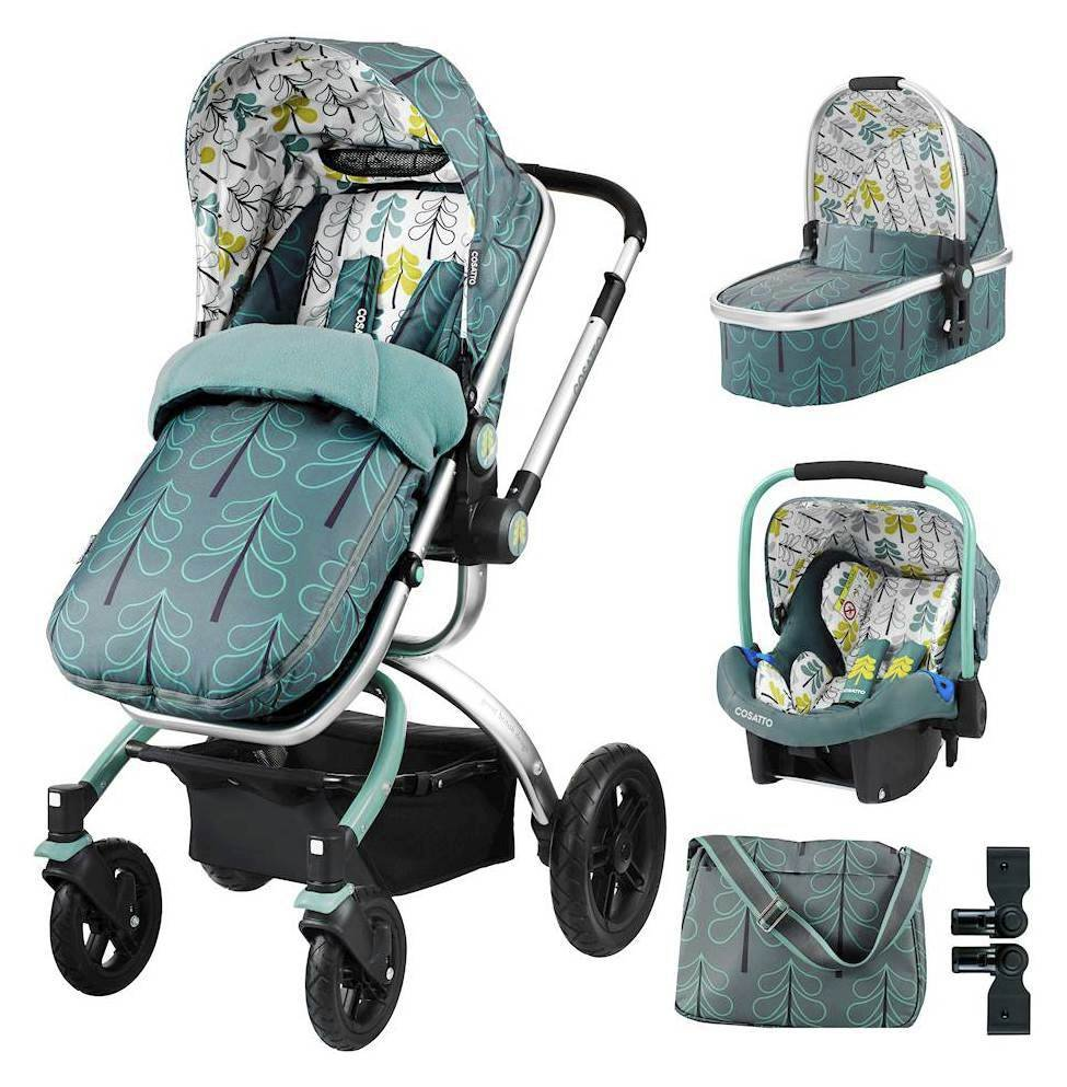 Ooba Travel System And Accessories Bundle - Fjord