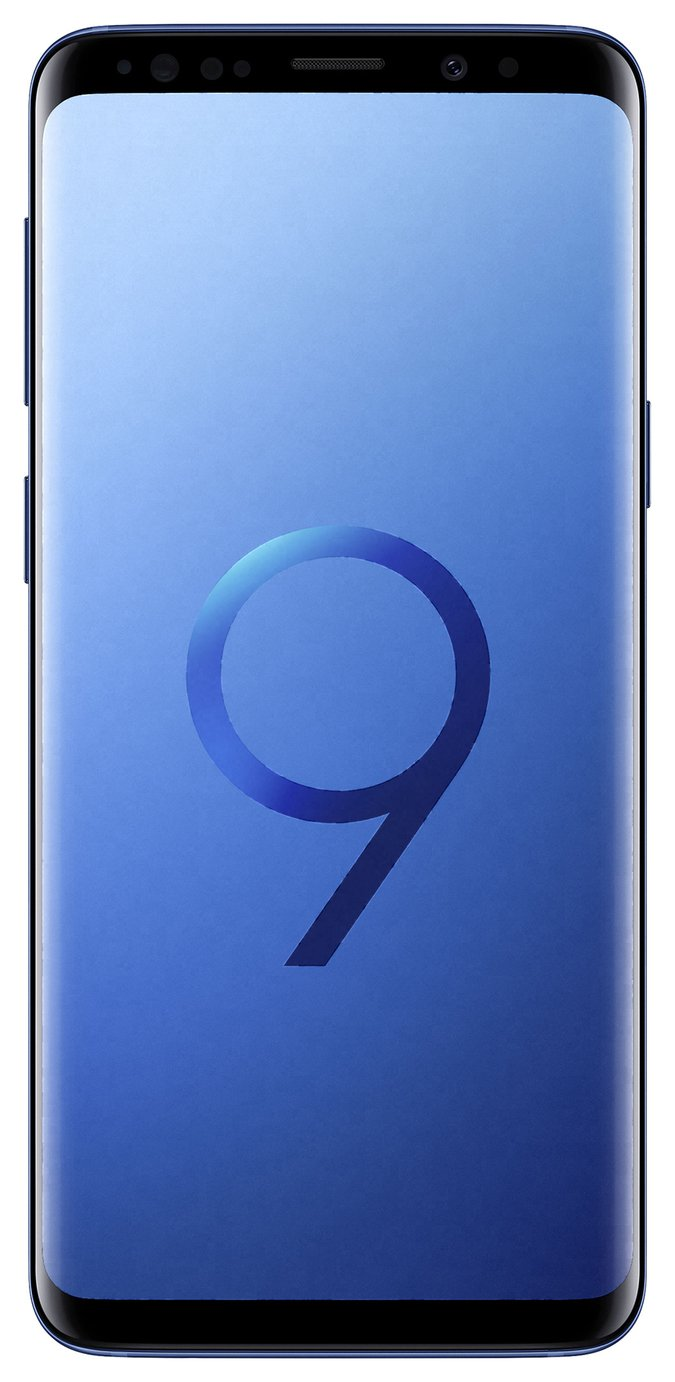 Samsung Sim Free Samsung Galaxy S9 64GB Mobile Phone - Coral Blue