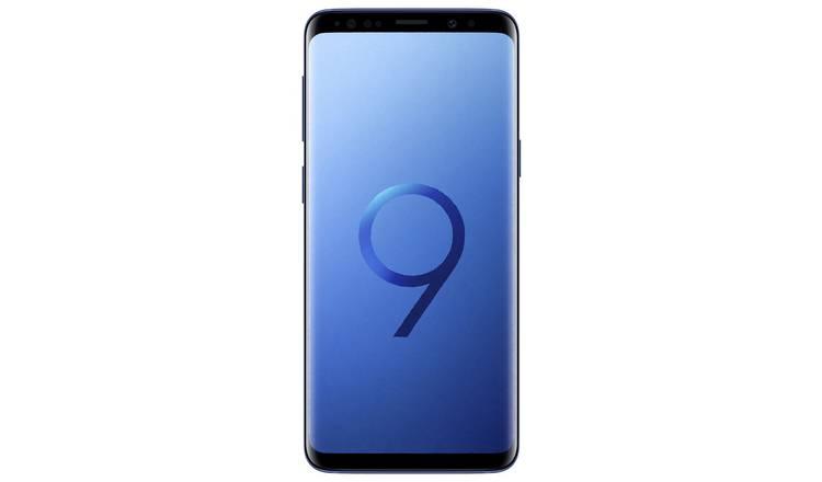 91111287f Buy SIM Free Samsung Galaxy S9 64GB Mobile Phone - Coral Blue ...
