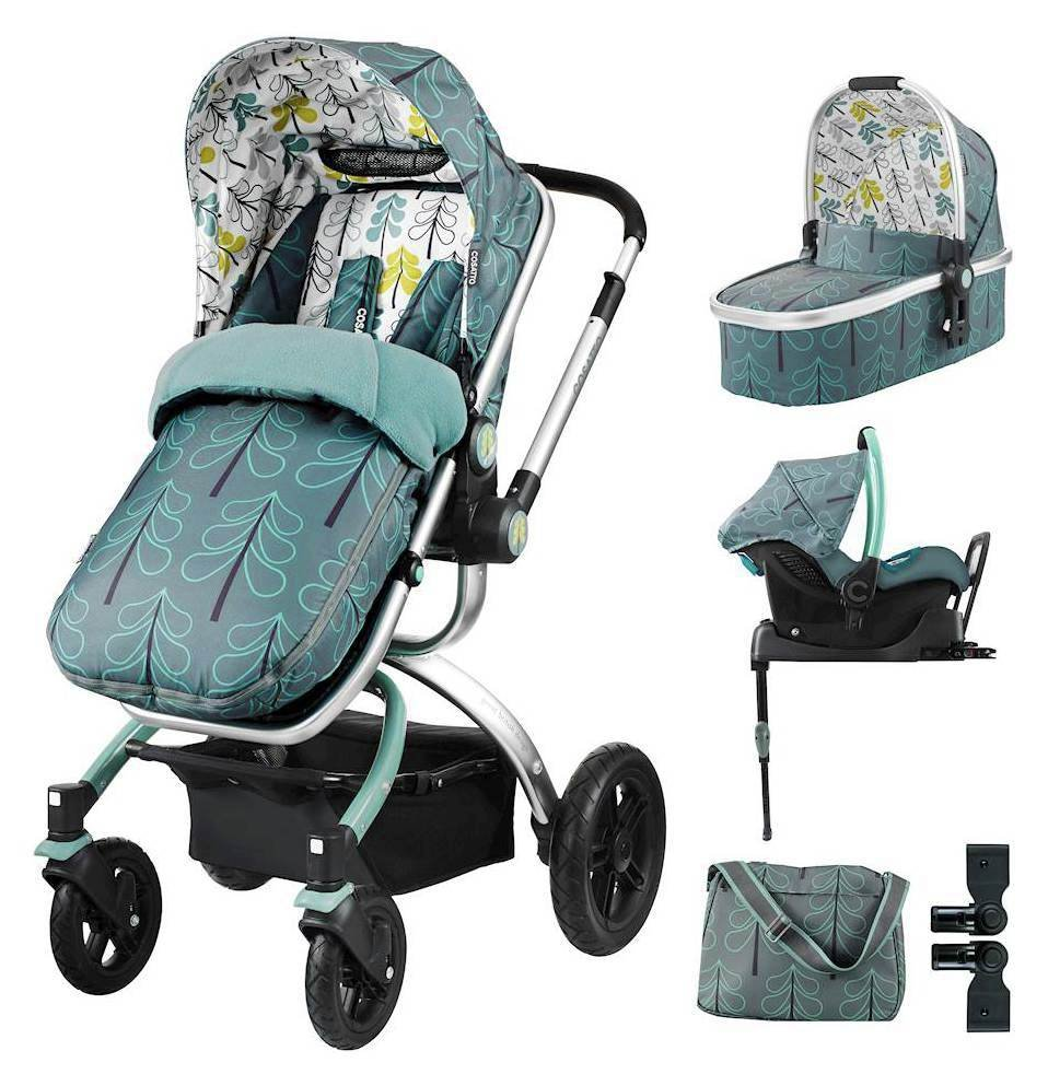 Ooba ISOFIX Travel System & Accessories Bundle - Fjord