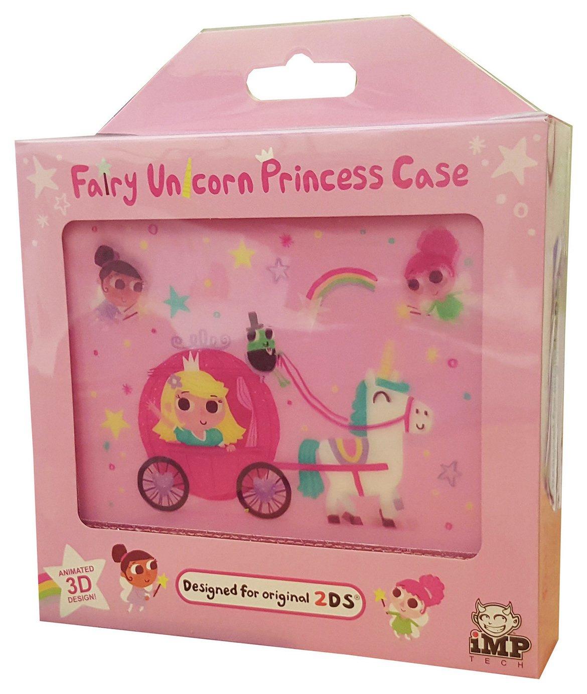 Image of Fairy Unicorn Princess Nintendo 2DS Case