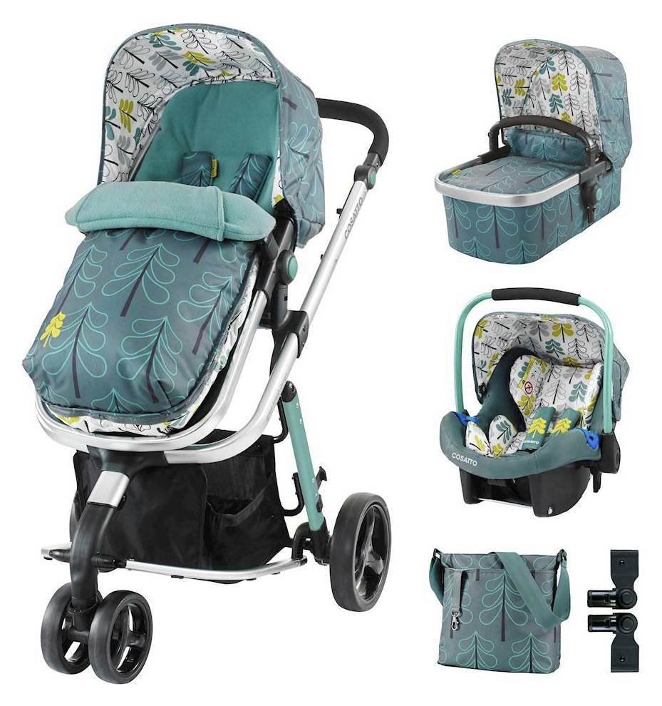 Giggle Travel System &  Bundle Accessories Bundle - Fjord