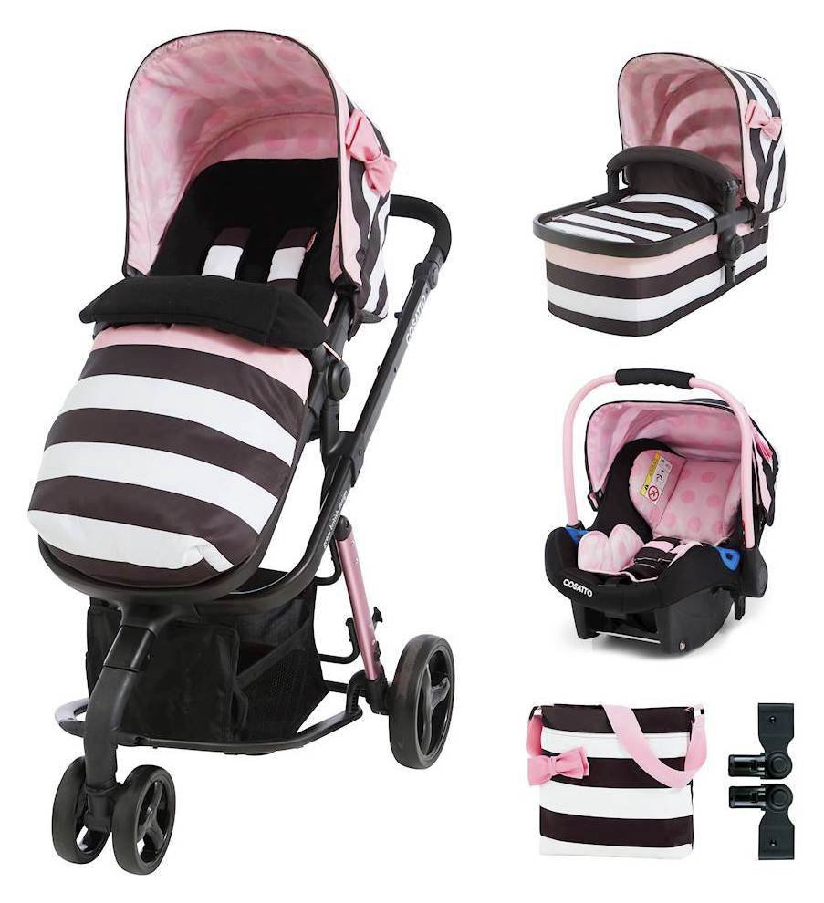 Giggle Travel System & Accessories Bundle - Golightly 3