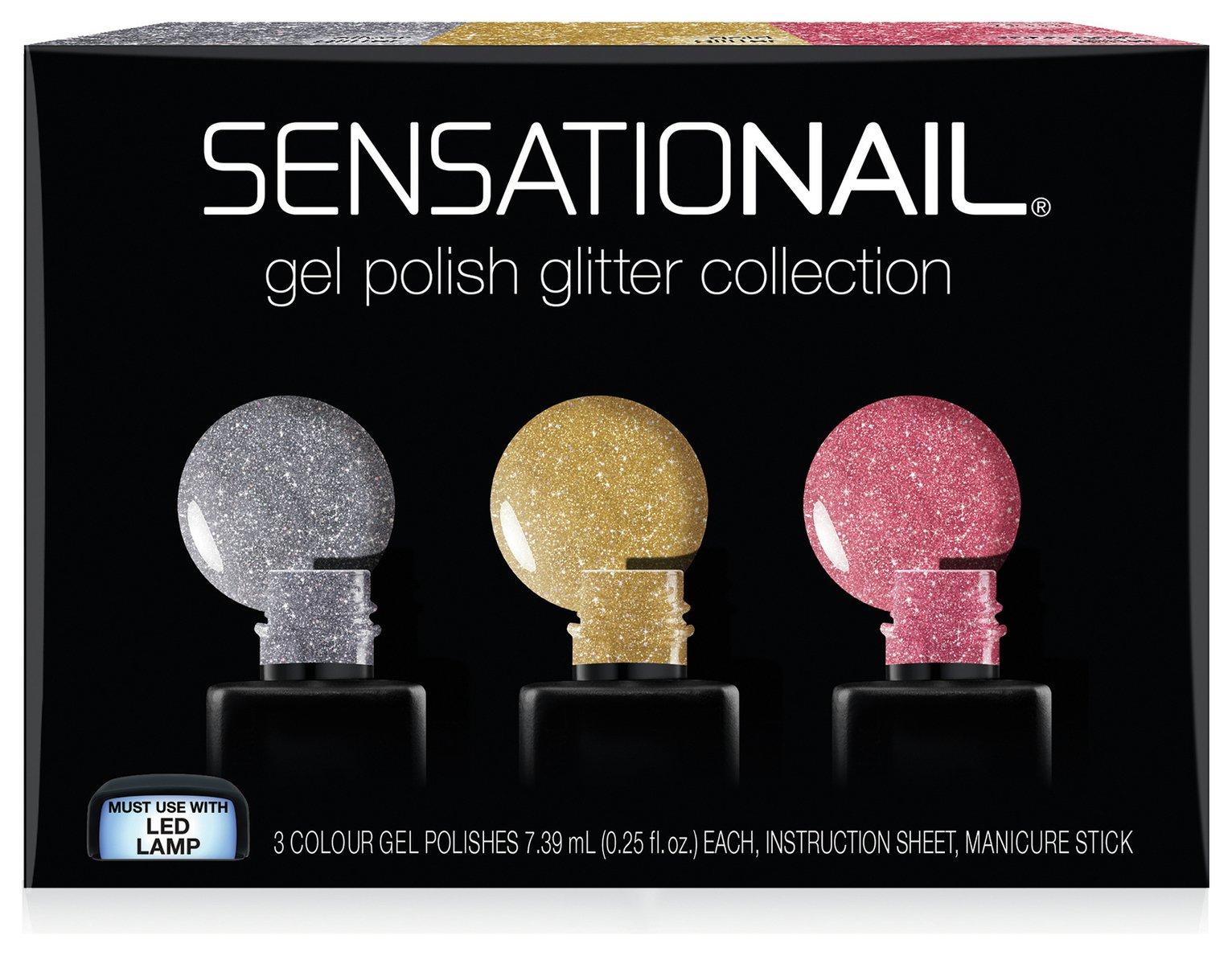 SensatioNail Glitters Collection - 3 Pack