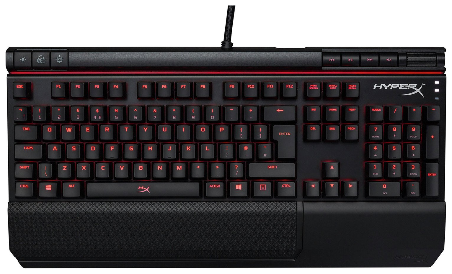 Image of HyperX Alloy Elite Mechanical PC Gaming Keyboard