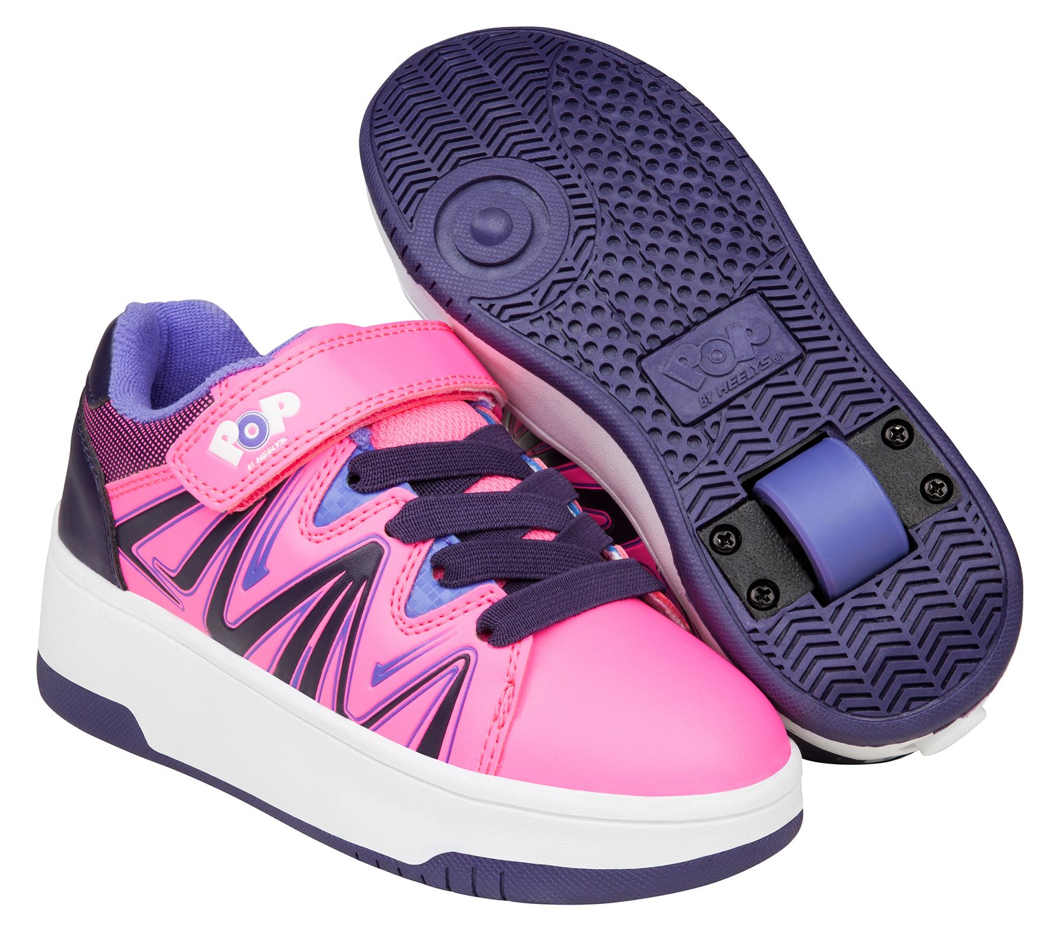 POP By Heelys Pink Burst - Size 2