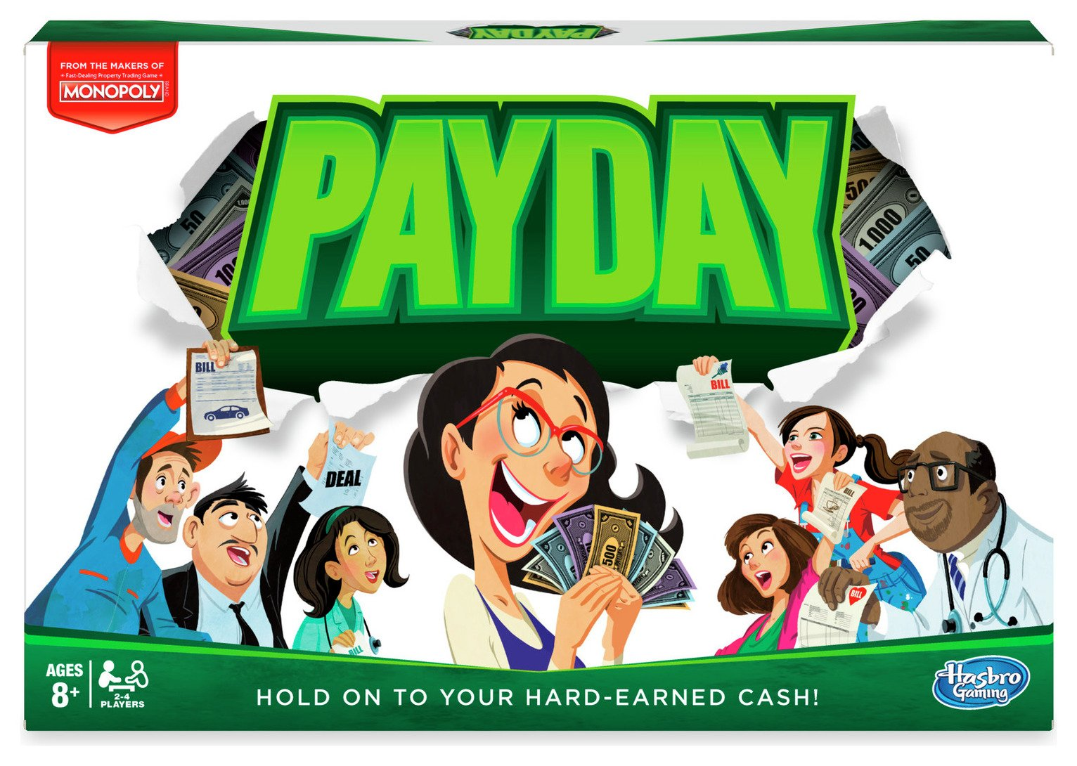 Pay Day Game from Hasbro Gaming