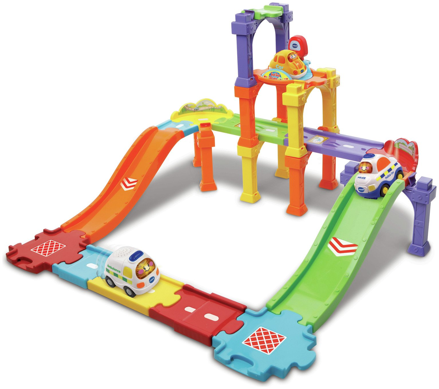 VTech Toot Toot Ultimate Track Set - 23 Pieces