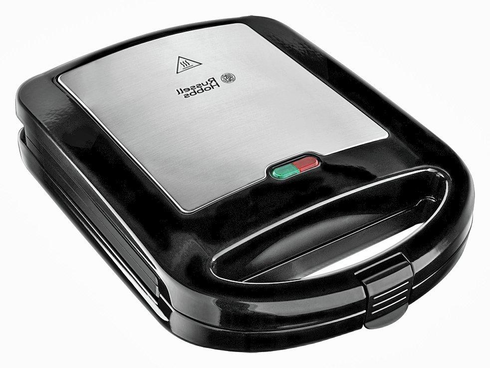 russell hobbs 20930 3 in 1 sandwich toaster black silver black. Black Bedroom Furniture Sets. Home Design Ideas