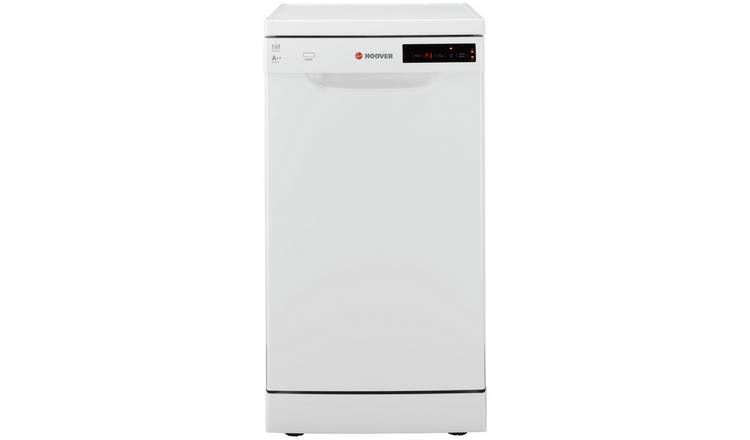 Hoover HDP 2D1049W Slim Dishwasher - White