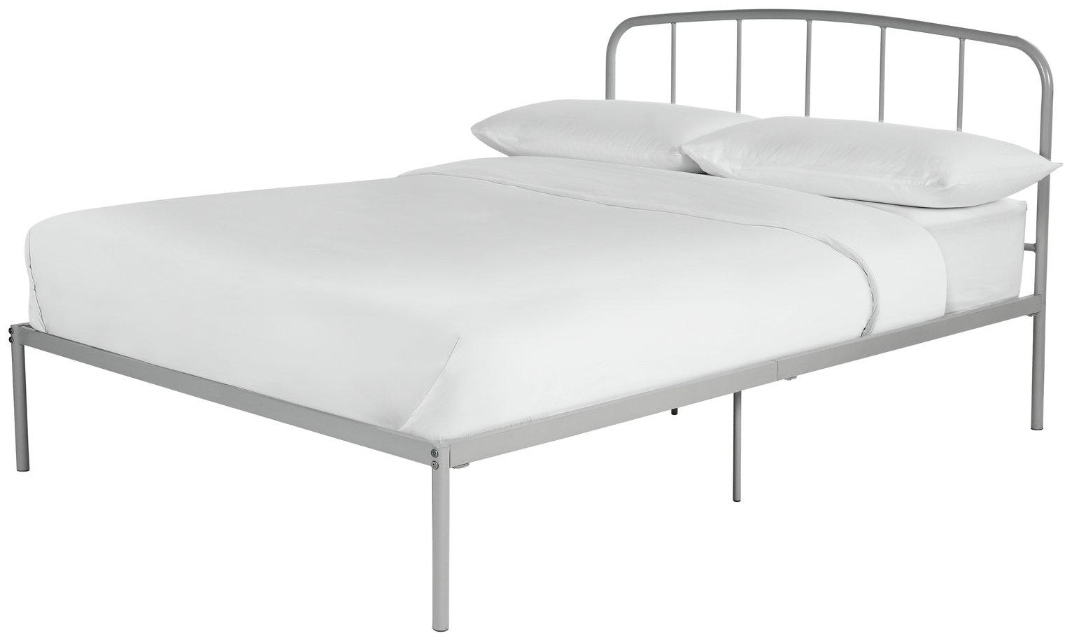 Argos Home Freja Double Bed Frame - Grey