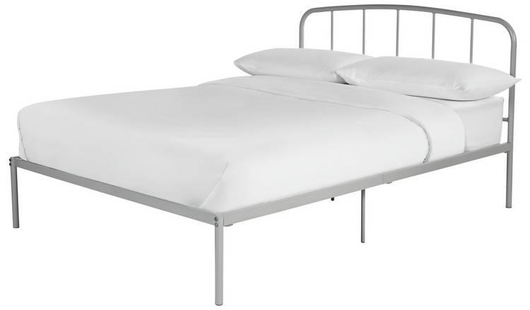size 40 20022 3aef6 Buy Argos Home Freja Double Bed Frame - Grey | Bed frames | Argos