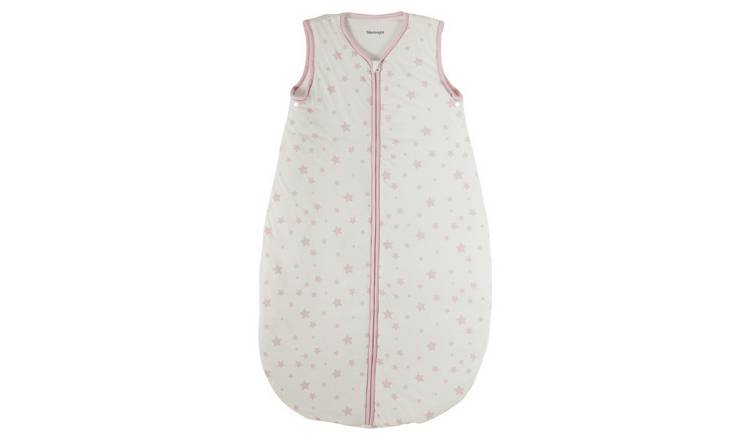 purchase cheap 9f5c7 89def Buy Silentnight Baby Sleeping Bag - Pink Stars | Baby sleeping bags | Argos