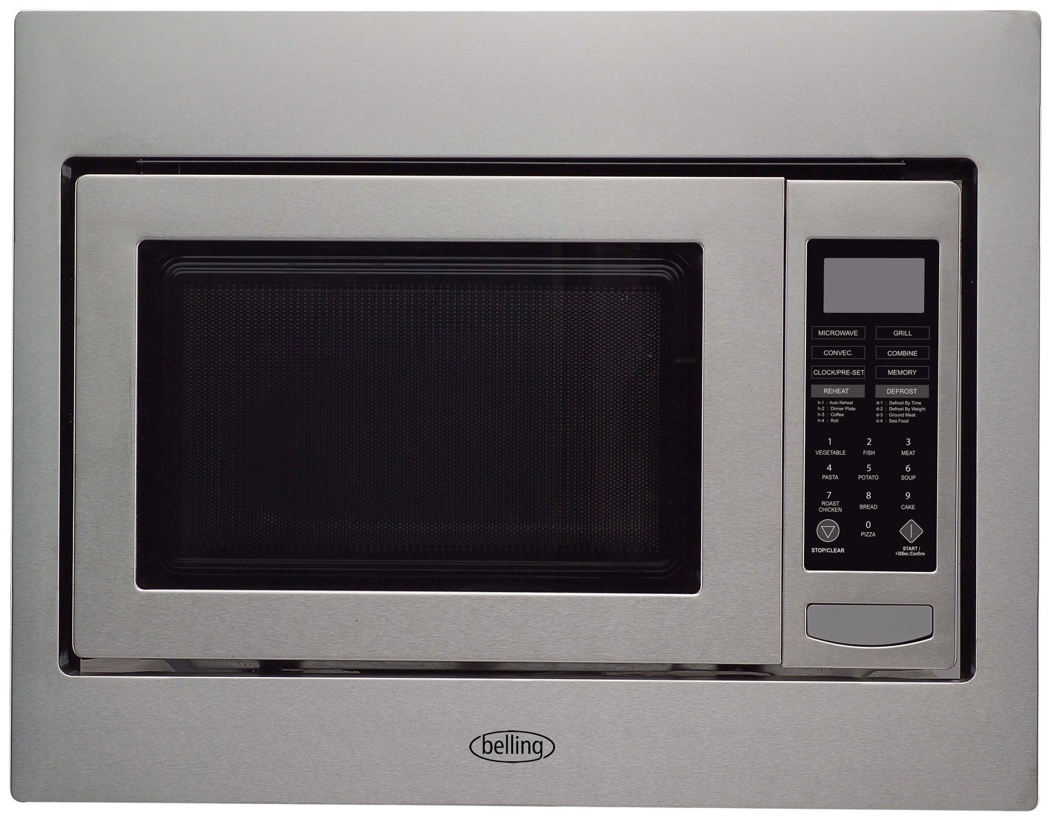Image of Belling BIMW60 Built-in Microwave - Stainless Steel