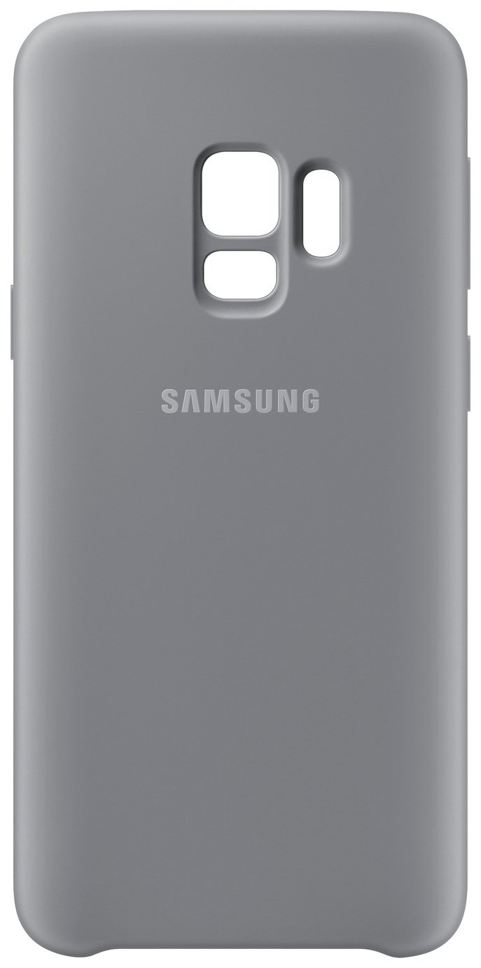 finest selection 30de3 bfe7b Samsung S9 Soft Touch Cover - Grey