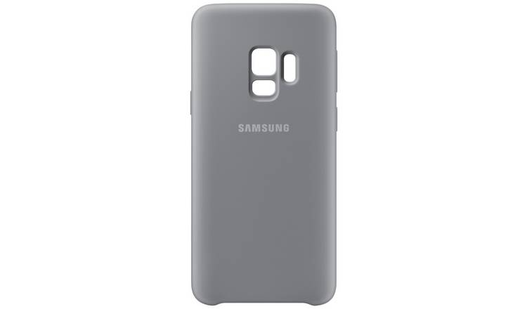 online store 0f99e 43add Buy Samsung S9 Soft Touch Cover - Grey | Mobile phone cases | Argos