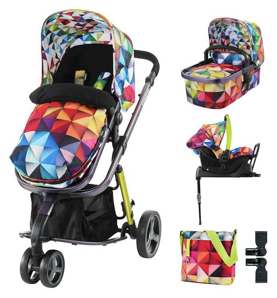 Image of Giggle ISOFIX Travel System Accessories Bundle - Spectroluxe