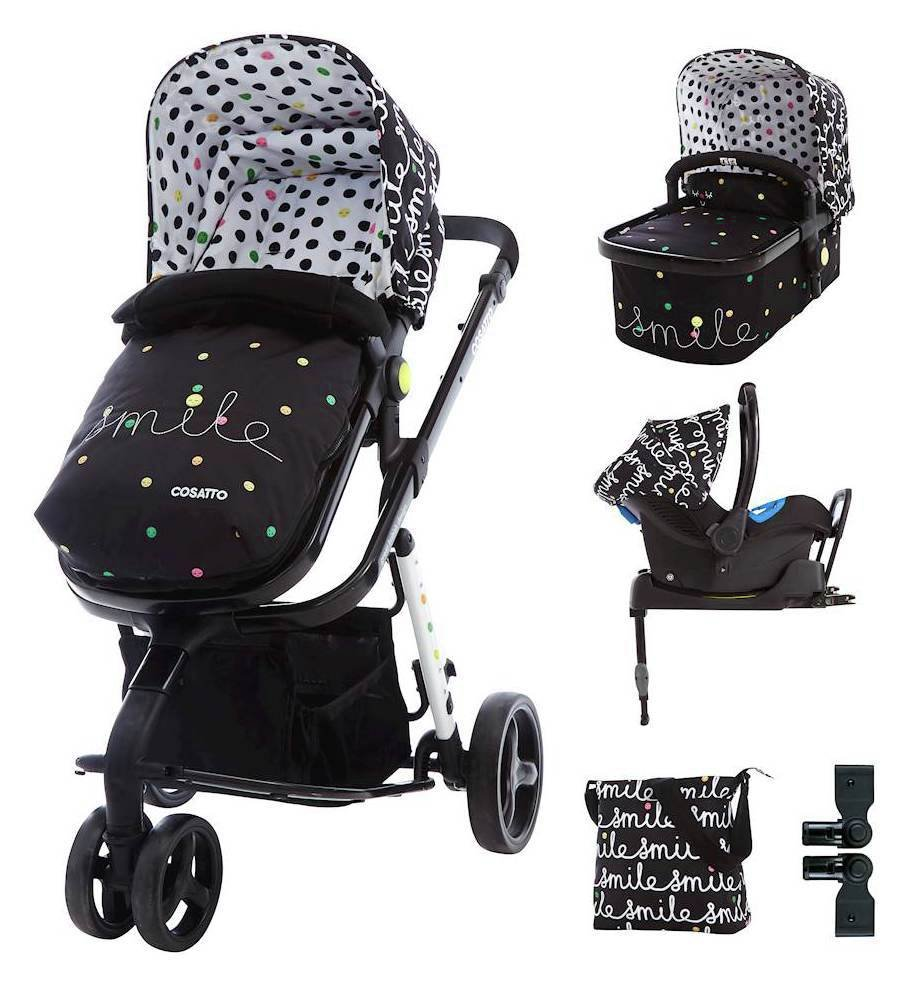Giggle ISOFIX Travel System & Accessories Bundle - Smile