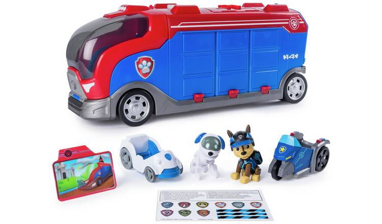 Buy Paw Patrol Mission Cruiser With Robo Dog Vehicle Playsets And Figures Argos