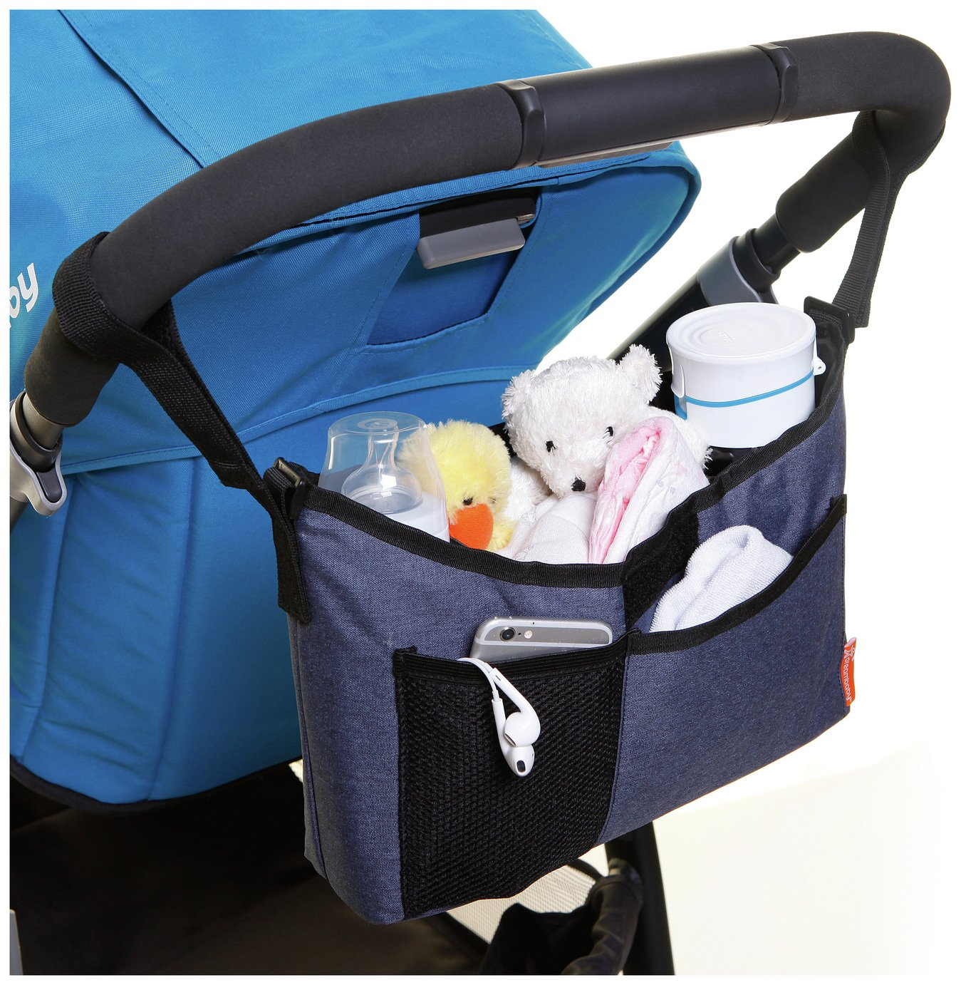 Image of Dreambaby Strollerbuddy On-The-Go Bag ??? Blue