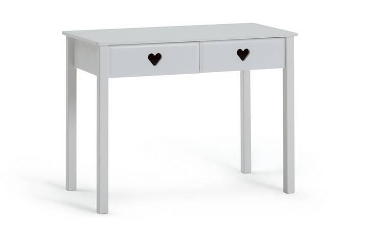 Buy Argos Home Mia White 2 Drawer Desk