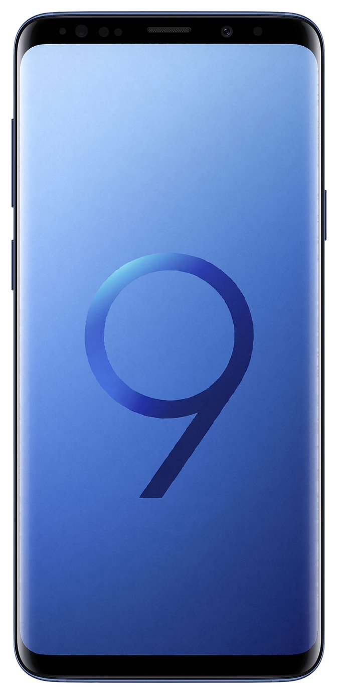 Samsung Sim Free Samsung Galaxy S9+ 128GB Mobile Phone - Coral Blue