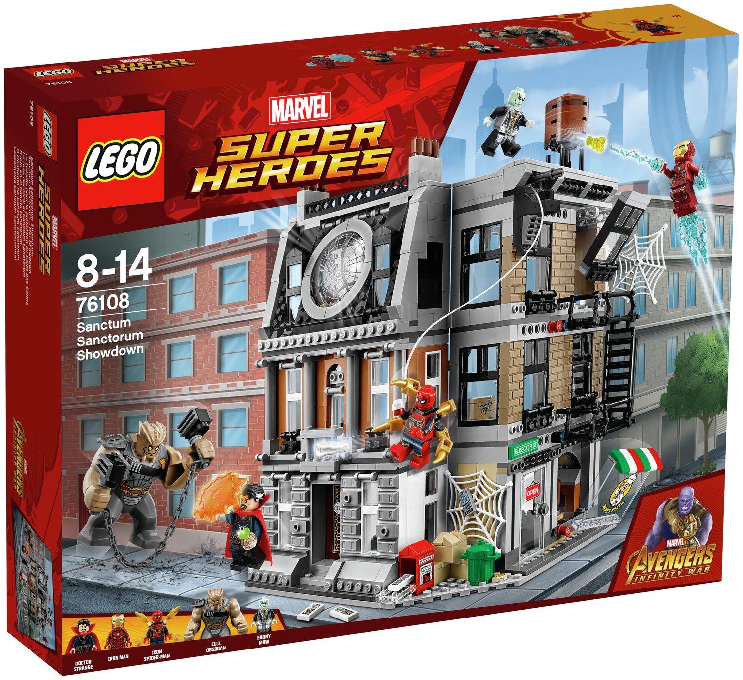 Buy LEGO Marvel Infinity War Sanctum Sanctorum Showdown - 76108 ...