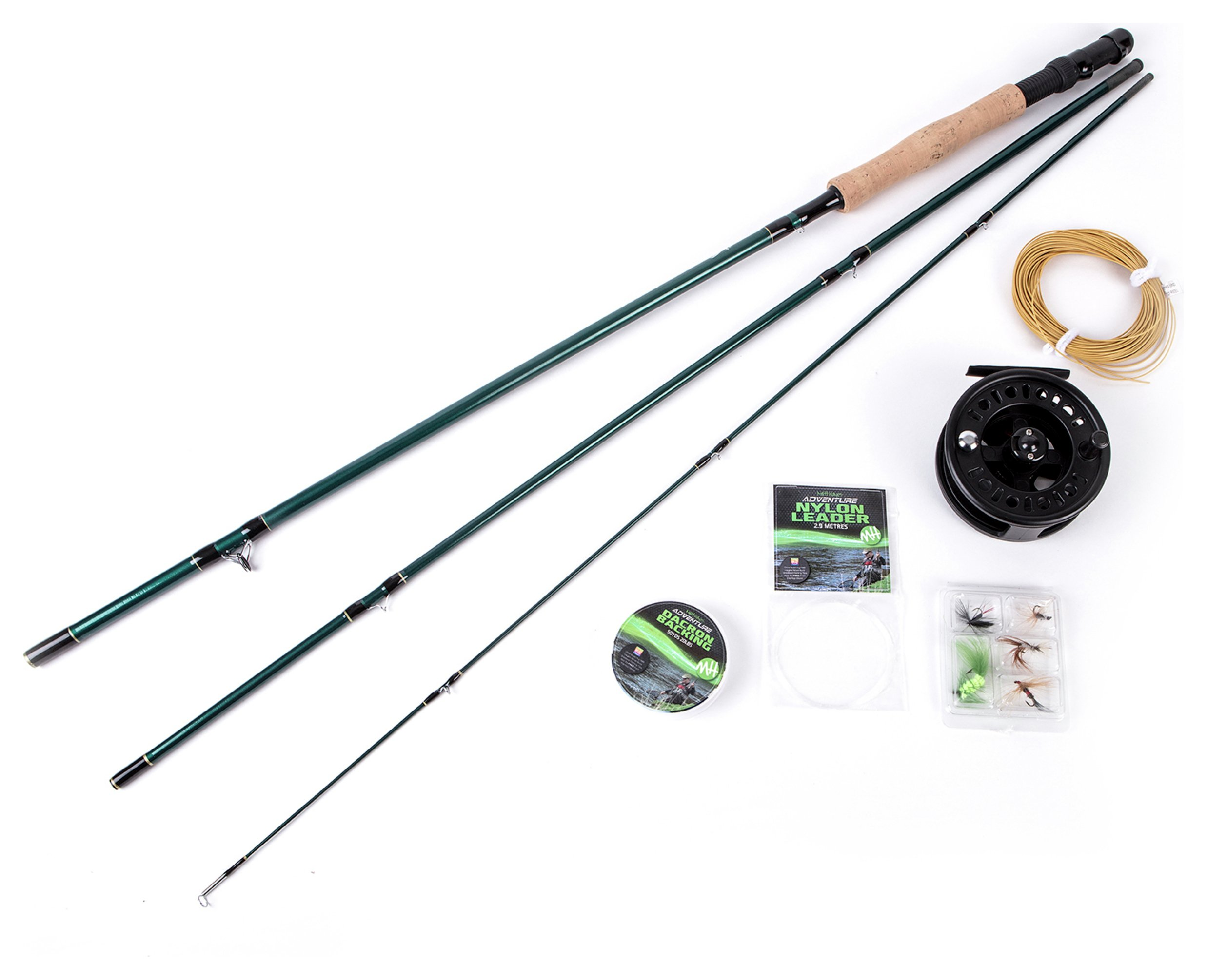 Matt Hayes Adventure Fly Fishing Rod, Reel & Accessories