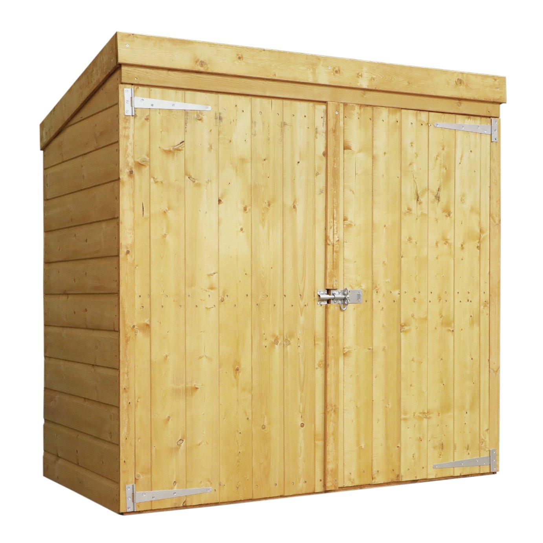 Mercia Wooden 4 x 2ft Shiplap Pent Tool Store