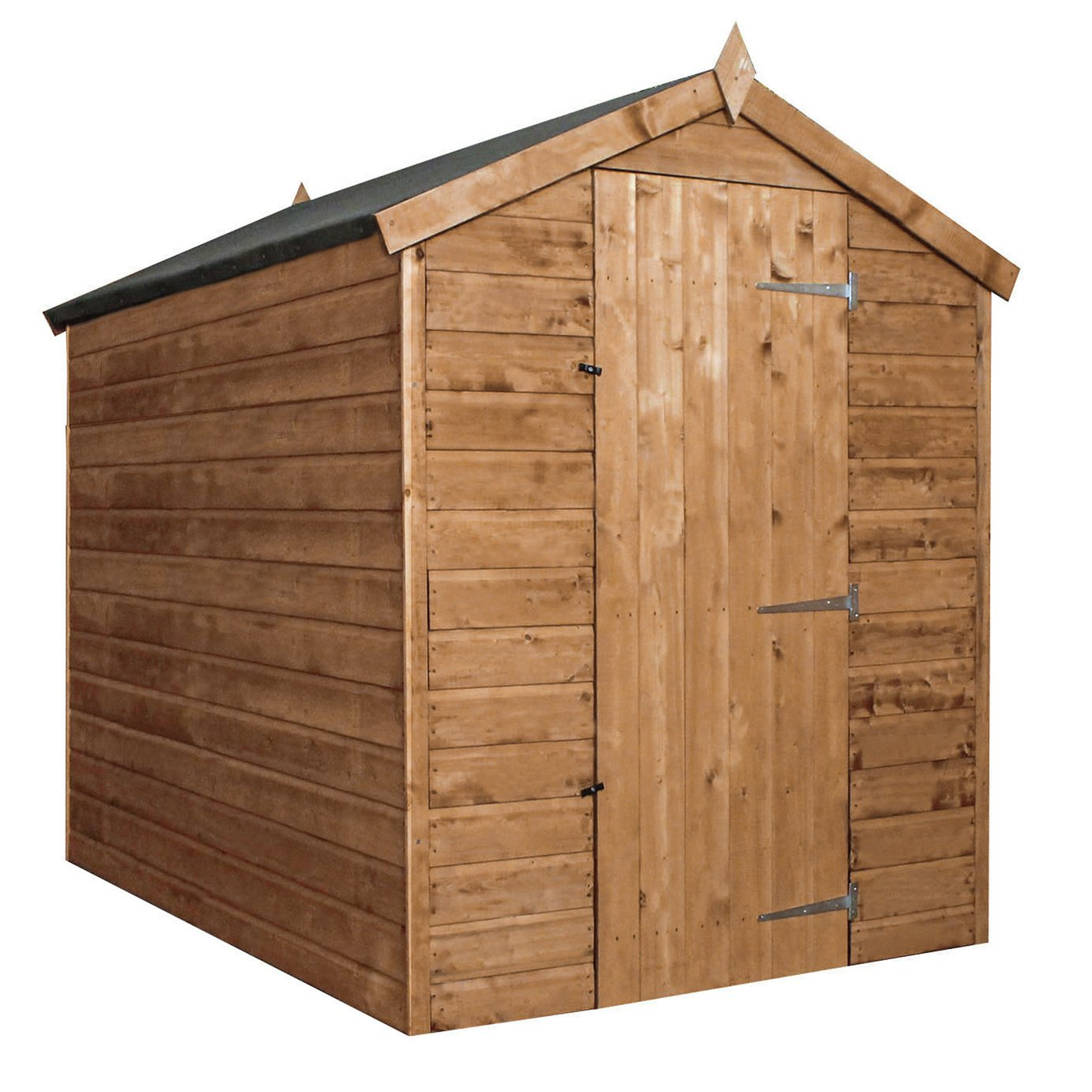 Mercia Workman Wooden 7 x 5ft Shiplap Apex Shed