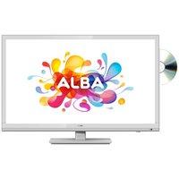 Alba 24 Inch HD Ready TV/ DVD Combi - White