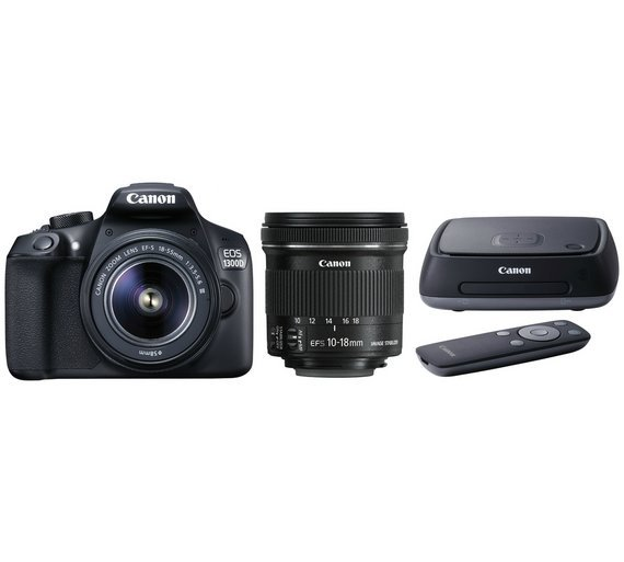 Canon EOS 1300D DSLR Camera with 18-55mm & 10-18mm Lenses