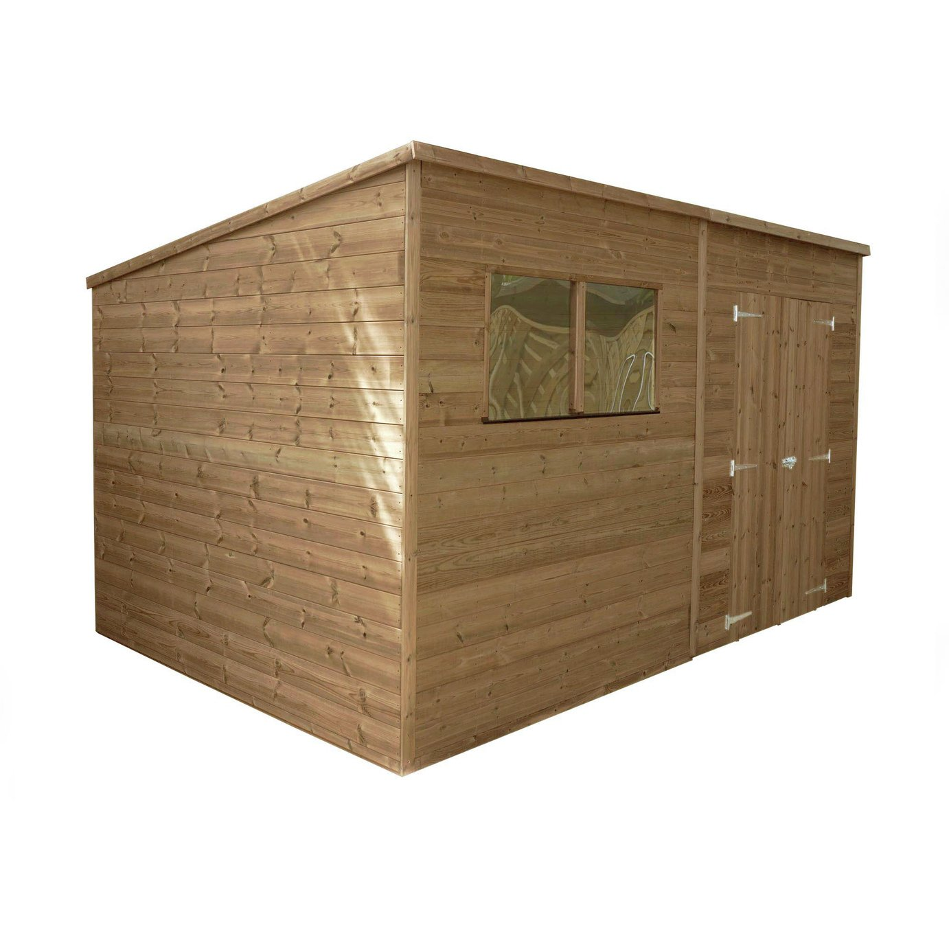 Mercia Wooden 12 x 8ft Pressure Treated Pent Shed